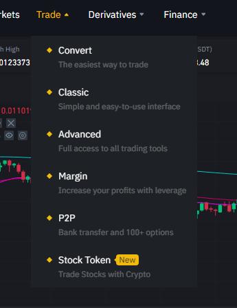 Binanace Stock Token